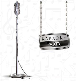 Tło strony karaoke