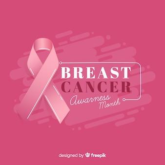 Tło świadomości raka piersi miesiąc