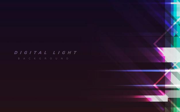 Tło światła cyfrowego