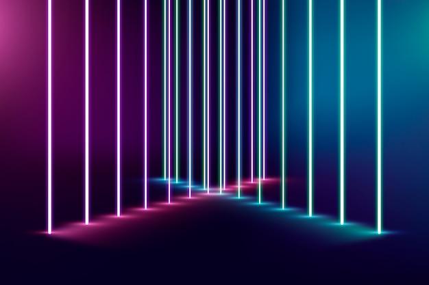 Tło światła neonowe