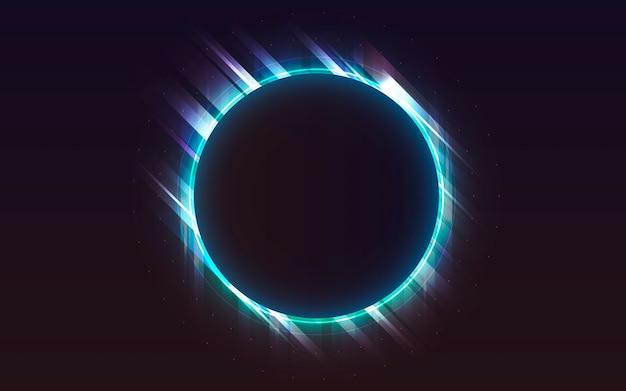 Tło światła neonowego