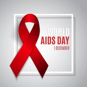 Tło światowego dnia aids