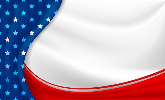 Tło święta ameryki lub usa 4 lipca dzień niepodległości