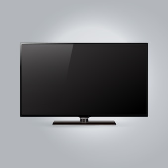 Tło szablonu telewizora