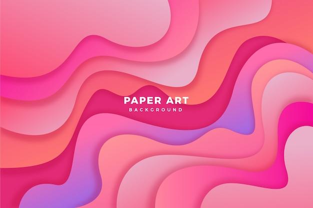 Tło sztuka papieru