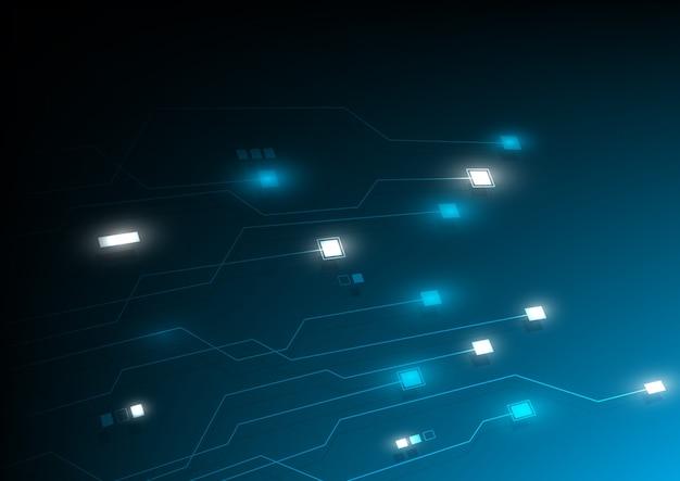Tło technologii blockchain