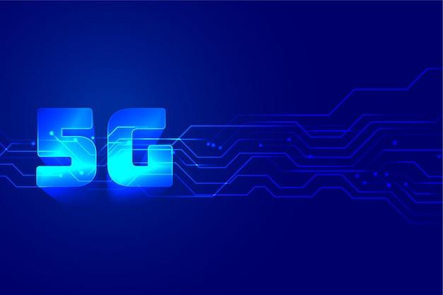 Tło technologii cyfrowej szybkiej prędkości