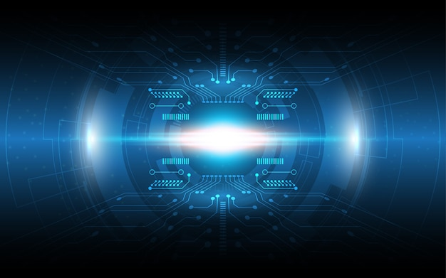Tło technologii koncepcja komunikacji hi-tech