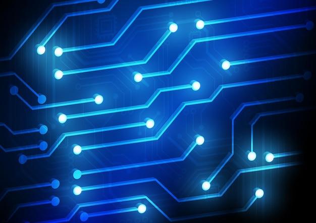 Tło technologii obwodów z zaawansowanym systemem cyfrowego połączenia danych i projektowaniem elektronicznym