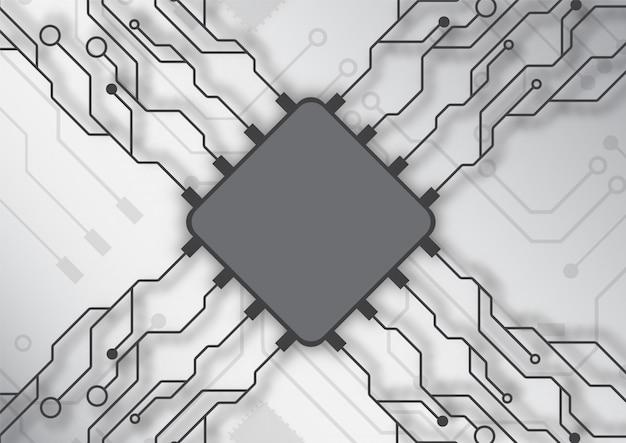 Tło technologii obwodu drukowanego