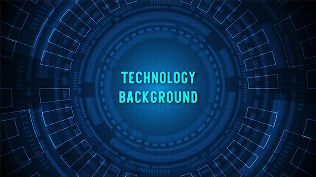 Tło technologii obwodu z nowoczesnymi danymi cyfrowymi