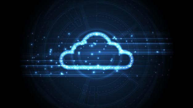 Tło technologii przechowywania w chmurze