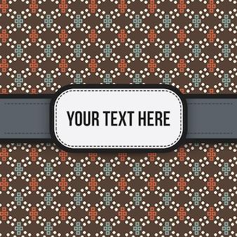 Tło tekstowe z kolorowym wzorem. przydatne do prezentacji, reklamy i projektowania stron internetowych.