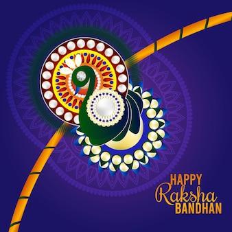 Tło uroczystości bandhan raksha