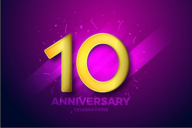 Tło uroczystości happy anniversary