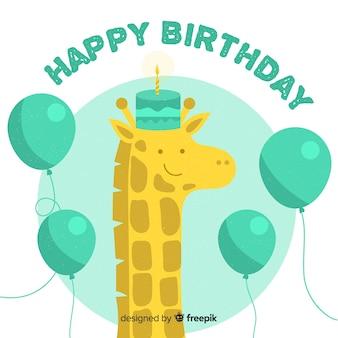 Tło urodziny