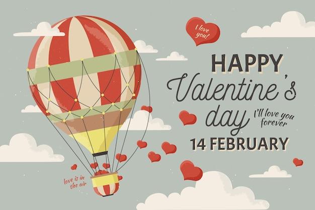 Tło valentine's day