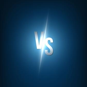 Tło versus vs.
