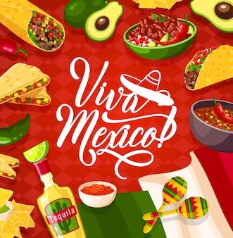 Tło viva meksyk