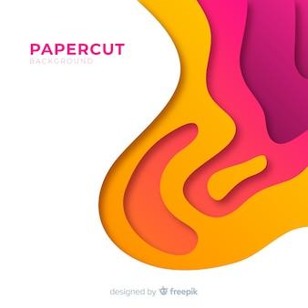 Tło w papercut