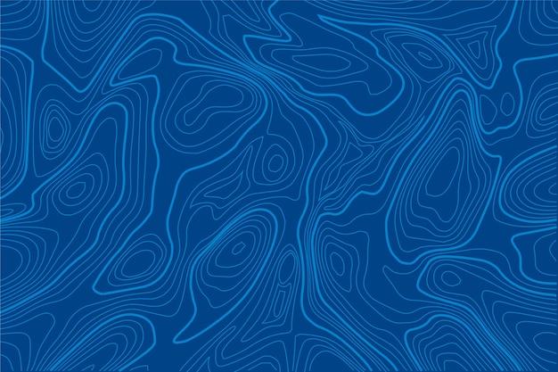 Tło w stylu mapy topograficznej