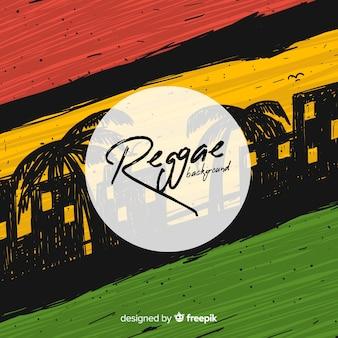 Tło w stylu reggae