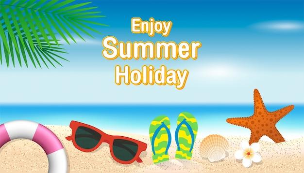Tło wakacje letnie