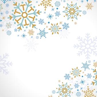 Tło wakacje wzór śnieżynka