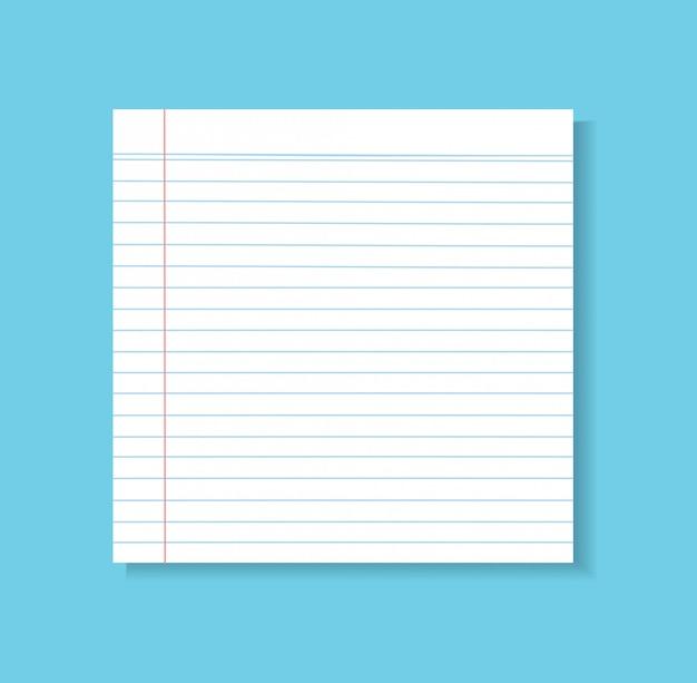 Tło wektor linii papieru
