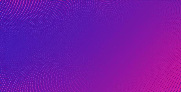 Tło wektor z kropkami w kolorze abstrakcyjnej fali
