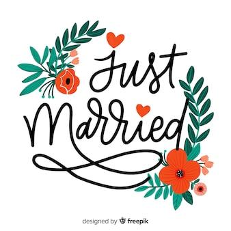Tło wesele kaligraficzne