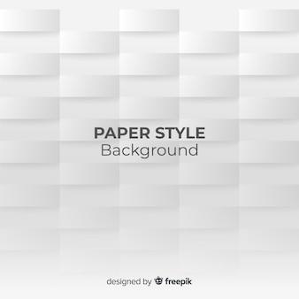 Tło wielokąta w stylu papieru