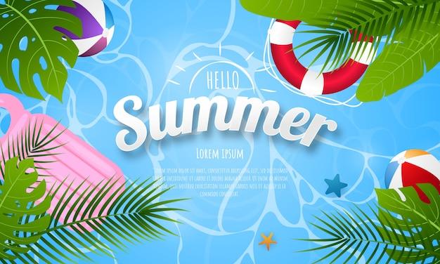 Tło wiosna lato