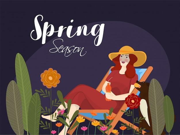 Tło wiosna sezon.