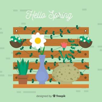 Tło wiosna