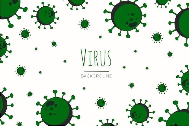 Tło wirusa