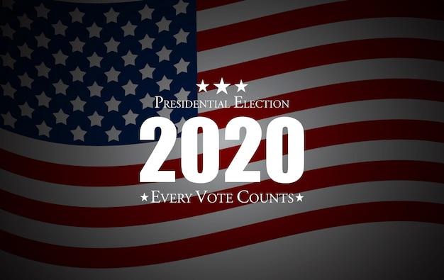 Tło wyborów prezydenckich w stanach zjednoczonych.