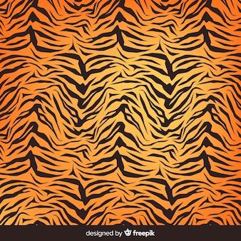 Tło Wydruku Tygrysa Darmowych Wektorów