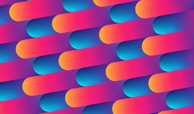 Tło wzór abstrakcyjne kolorowe