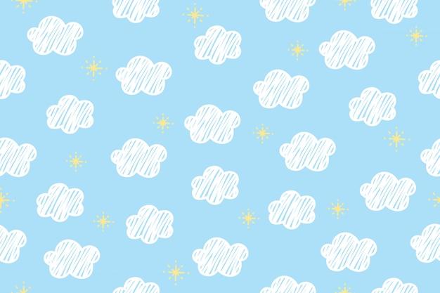 Tło wzór chmur.