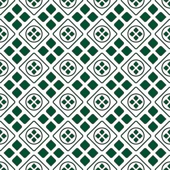 Tło wzór geometryczny batik. klasyczna tapeta z tkaniny. elegancka dekoracja etniczna