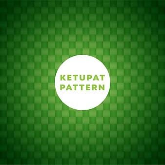 Tło wzór ketupat