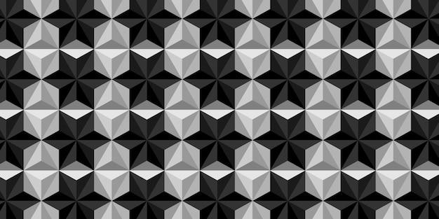 Tło wzór trójkąta premium.