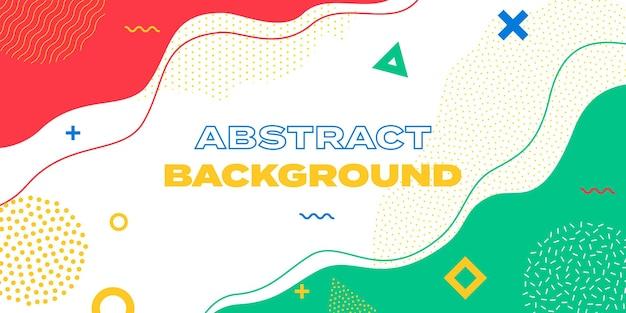 Tło wzór, wektor streszczenie kolor fali powitalny szablon do projektowania prezentacji. kolorowe linie i kropki wzór tła