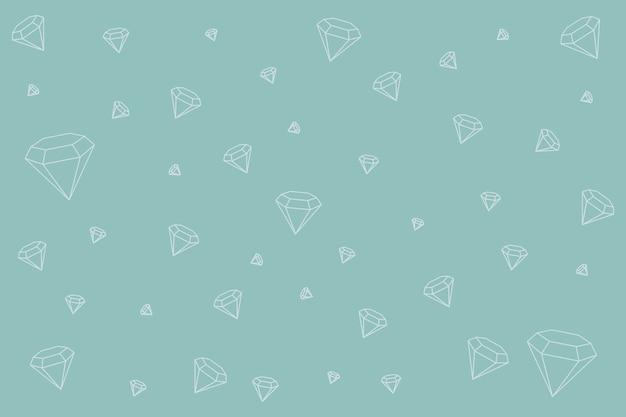 Tło wzorzyste diamentów