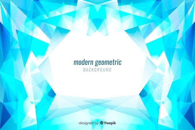 Tło z geometrycznymi kształtami