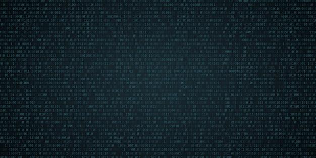 Tło z kodu binarnego.