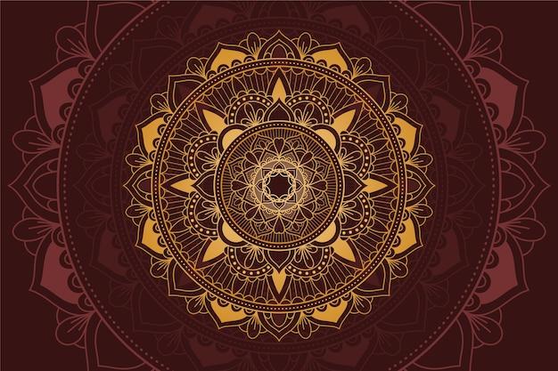Tło z luksusowym motywem mandali