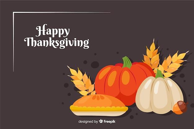 Tło z motywem święto dziękczynienia