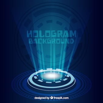Tło z projektu hologramu
